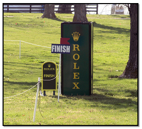 Finish Line at Rolex