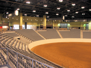 The Indoor Arena at the Kentucky Horse Park