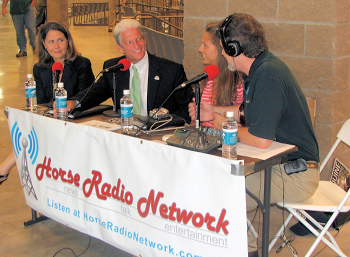 From left to right:  Ginny Grulke, John Nicholson, Chrissy Joy and Glenn the Geek