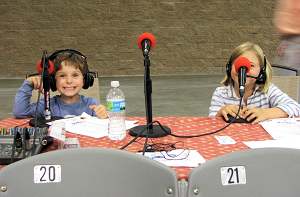 Sams kids - the next hosts of the Horse Radio Network