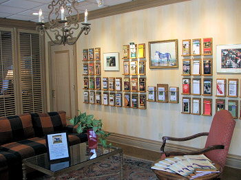 Inside of Lexington Convention and Visitors Bureau